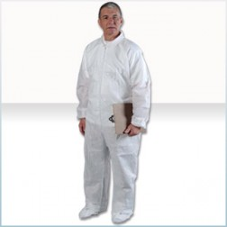 AlphaGuard SMS Cleanroom Coveralls with Elastic Wrist/Ankle/Back