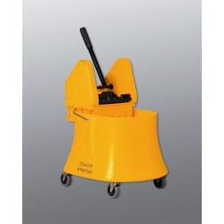 Downpress Mop Wringer & Bucket Combo for Cleanrooms