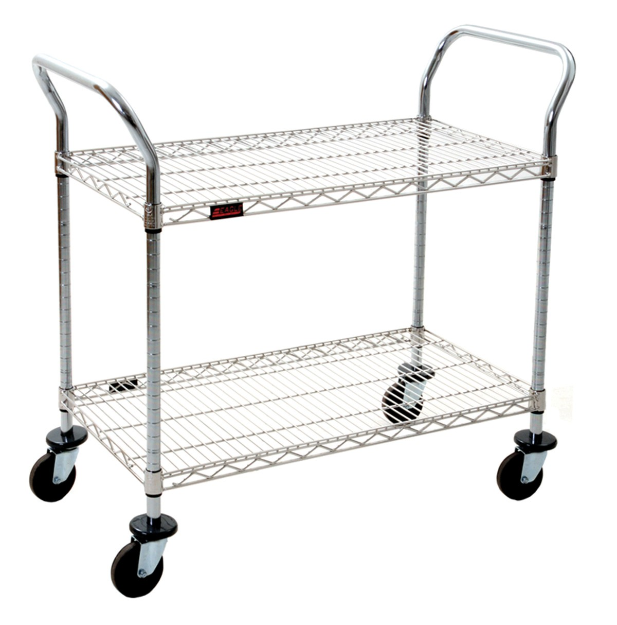 Chrome 2 Shelf Utility Cart