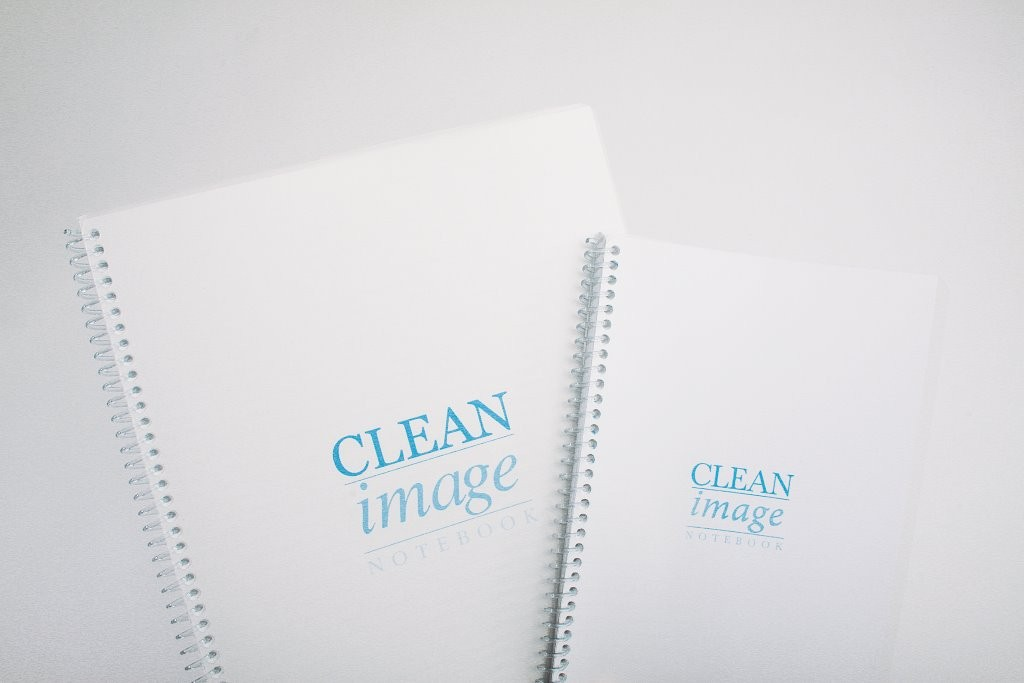 Clean Image Notebooks for Cleanrooms