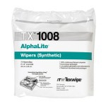 "TX1008 Texwipe AlphaLite 9"" x 9"" Polyester Cleanroom Wipers"