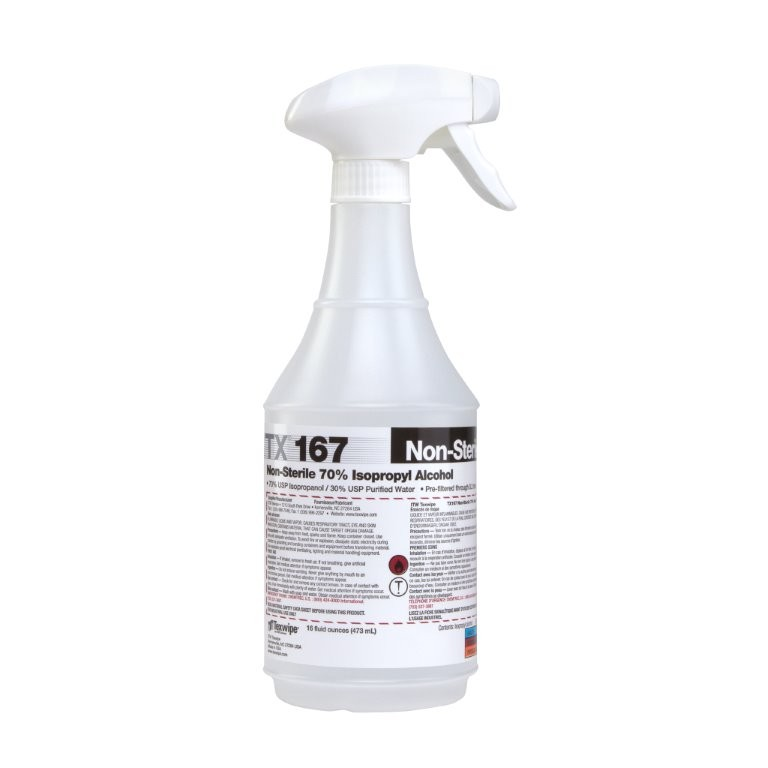 Texwipe Isopropyl Alcohol bottle
