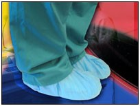CT International SCR Polypropylene Shoe Covers for Cleanrooms