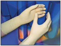 Clean-Class Sterile Powder Free Latex Glove