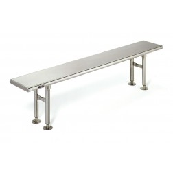 Cleanroom Stainless Steel Gowning Benches