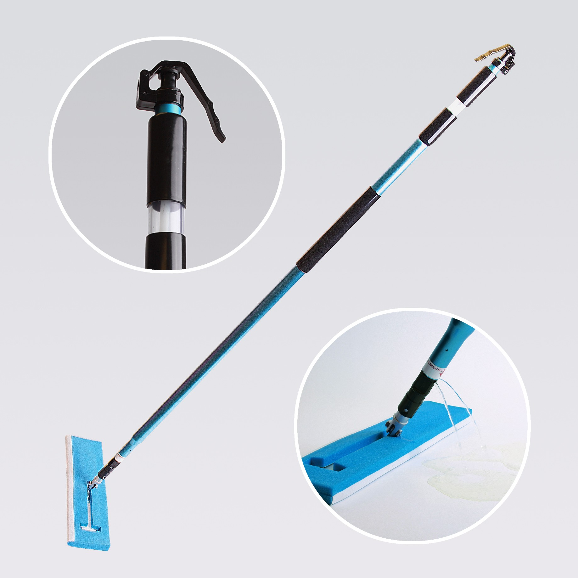 Cleanroom Bucketless Mop Handle