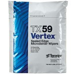 "TX59 Texwipe Vertex 9""x9"" Cleanroom Wipers"