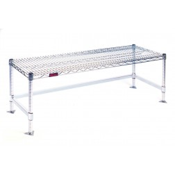 Cleanroom Gowning Benches - Wire