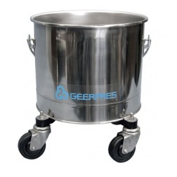 Cleanroom Stainless Steel Bucket 2600