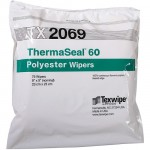 "TX2069 Texwipe ThermaSeal 60 9""x9"" Cleanroom Wipers"
