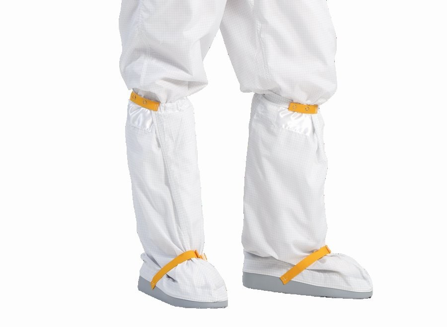 Reusable Hypalon Sole Boots with Polyester Uppers - White