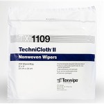 "TX1109 Texwipe TechniCloth II 9""x9"" Cleanroom Wipers"
