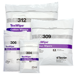 Texwipe Cotton Cleanroom Wipers