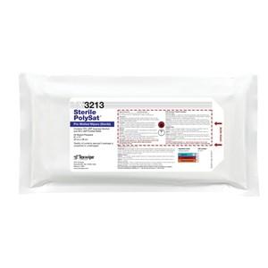"TX3213 Texwipe Sterile PolySat 9""x11"" Cleanroom Wipers 70% IPA"