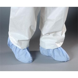AquaTrak Cleanroom Shoe Covers with Seamless Sole, Sonic Welded Seams