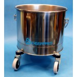 Cleanroom Traditional Mop Buckets with Optional Downpress Wringer