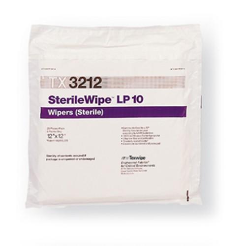 "TX3212 Texwipe Sterile Vetra Alpha 10 12""x12"" Cleanroom Wipers"