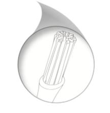 TX730 Texwipe Precision Nylon Cleanroom Swab - Bundled Filament Tip