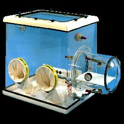 Compact Acrylic Glove Box 8200-001