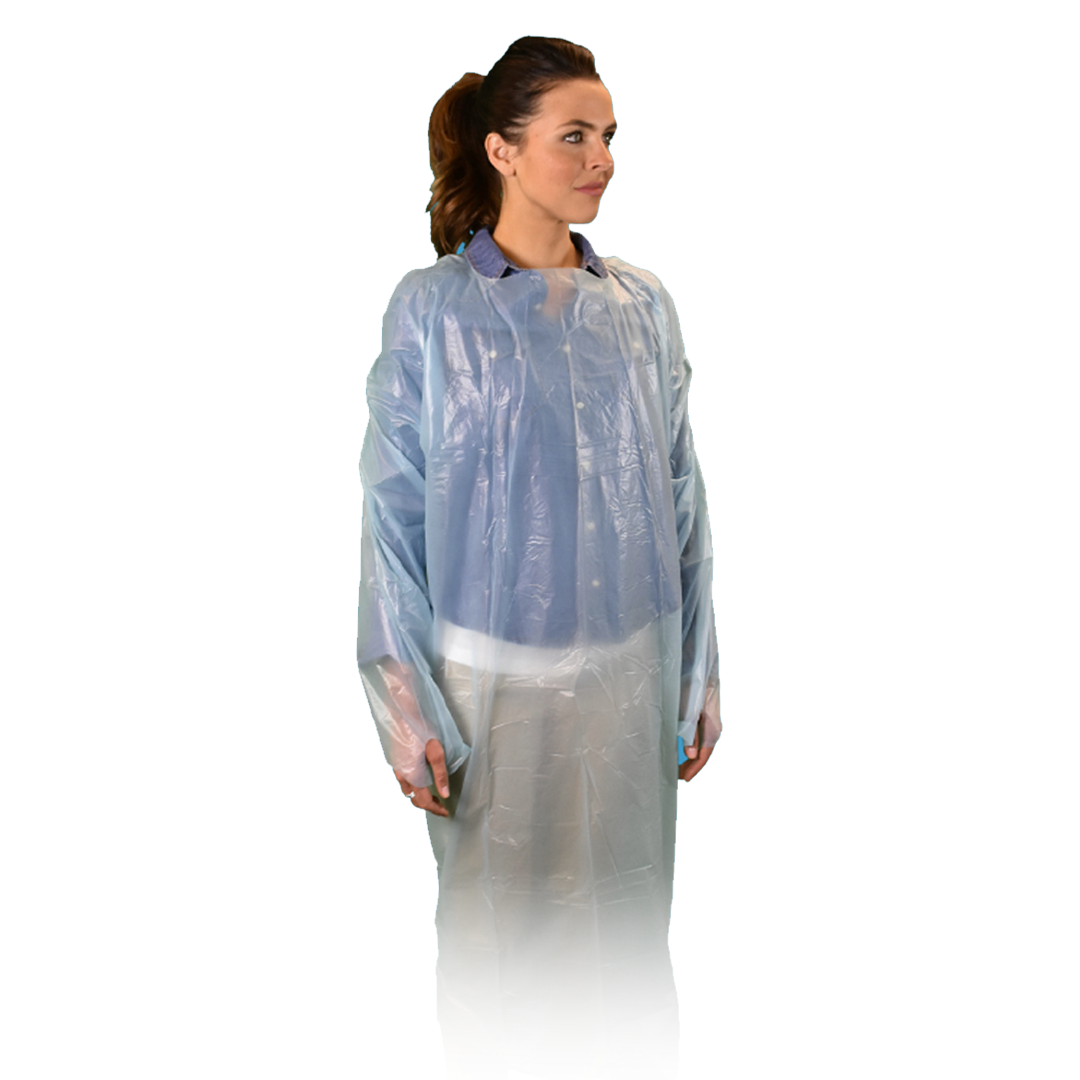 Isolation Gown - AAMI Level 2 0101-055-M color Blue
