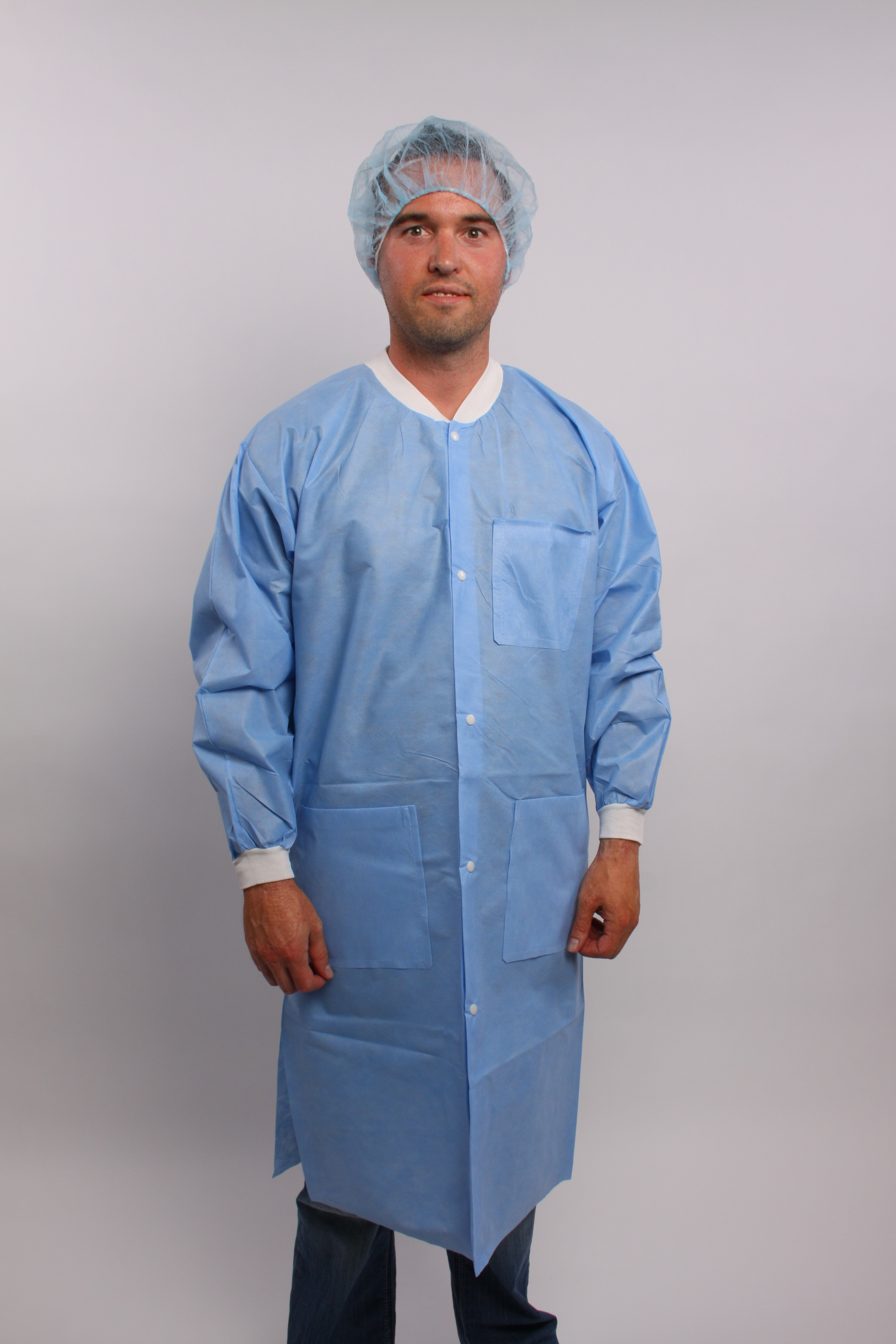 SMS Lab Coat with Pockets 5Xl