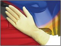 Clean-Class Powder Free Latex Class 100 Glove