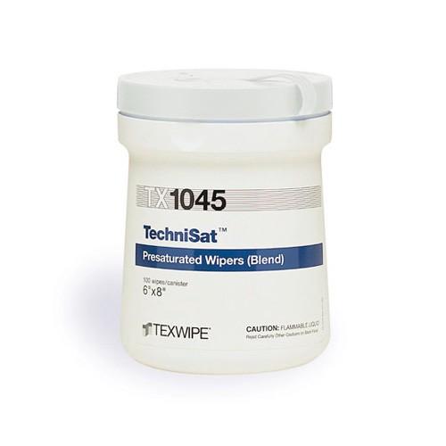 "TX1045 Texwipe TechniSat 6""x8"" Cleanroom Wipers 70% IPA"