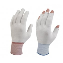 PureTouch Cleanroom Glove Liners - Half Finger - CLEARANCE