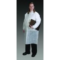 GenPro Cleanroom Lab Coats with Elastic Wrist, No pockets