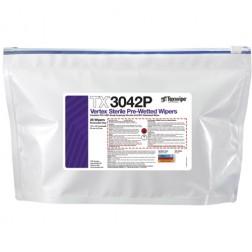 """TX3042P Texwipe Sterile Vertex 12""""x12"""" Cleanroom Wipers 70% IPA"""
