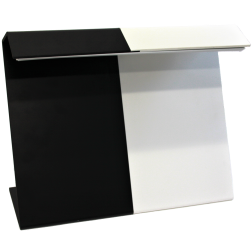 Angstrom Black & White Visual Inspection Background - XL - Tabletop with LED Light