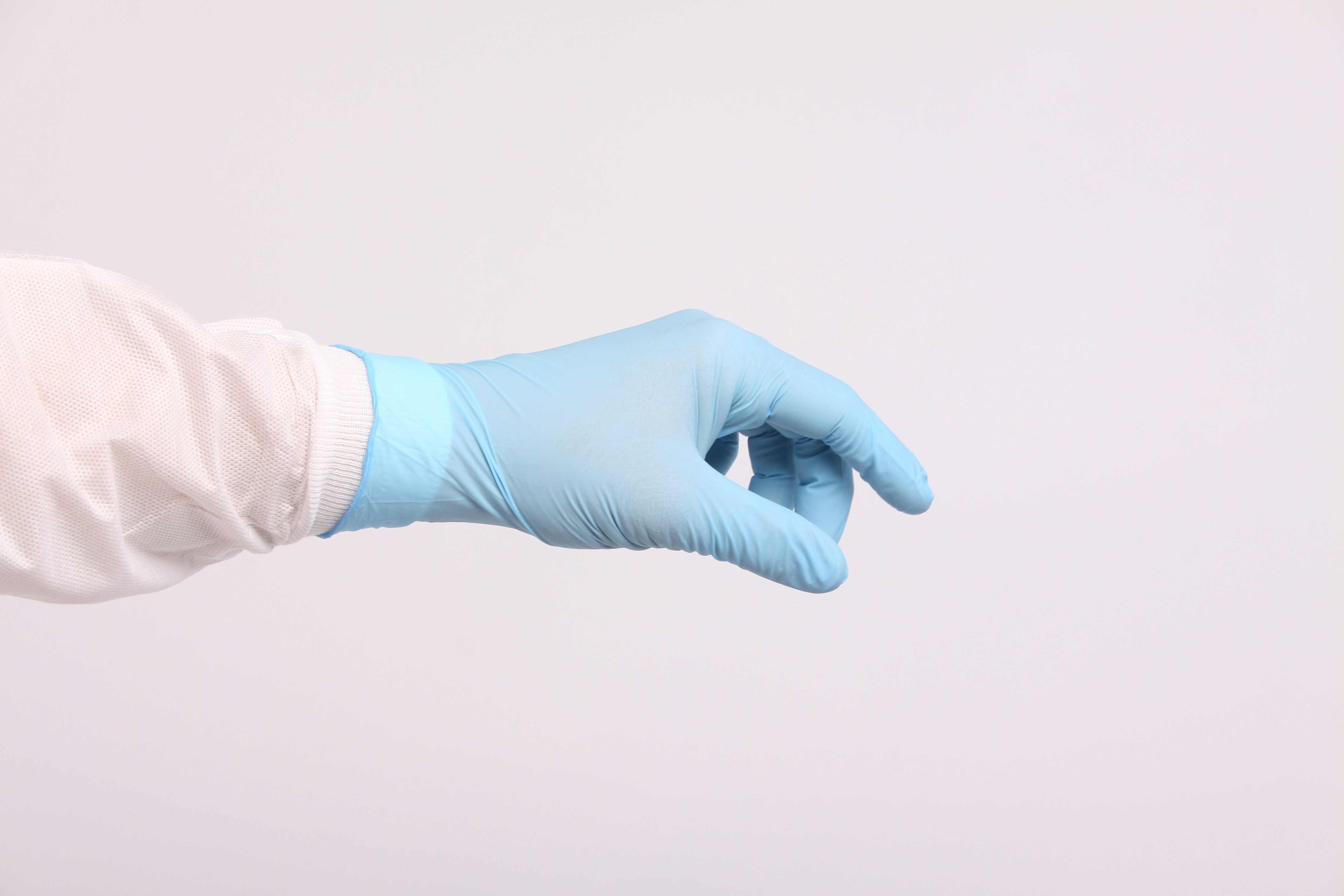 Nitrilon Sterile Powder Free Co-Polymer Nitrile Hand Specific Gloves Size 6.0 0606-006