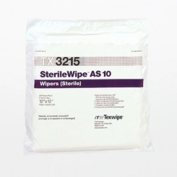 "TX3215 Texwipe SterileWipe AlphaSorb 10 12""x12"" Cleanroom Wipers"