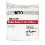 """TX1070 Texwipe TexTube 9"""" x 9"""" Cleanroom Wipers"""