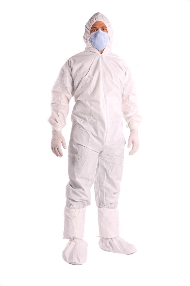 Microporous Cleanroom Coveralls