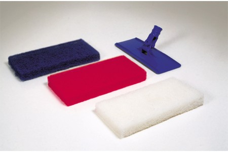 Cleanroom Scrubbing Pads & Handle