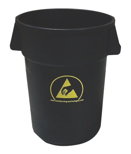ESD Cleanroom 44-Gallon Trash Can