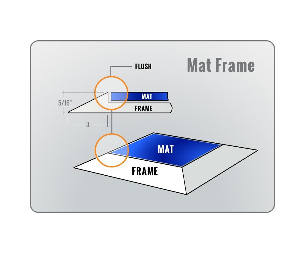 Modern Picture Frames Mats Crest - Framed Art Ideas - roadofriches.com